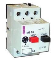 Автомат защиты двигателя ETI MS25-6,3 4-6,3 А
