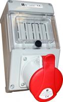 Монтажный набор под автоматические выключатели 32A Spamel ZI35X441