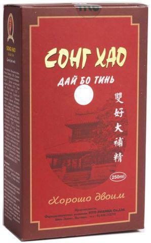 Сонг Хао Дай Бо Тинь настоянка fito, 250 мл Тонік-адаптоген