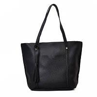 Черная сумка шоппер (комплект)
