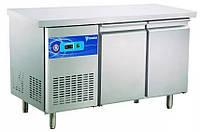 Стол холодильный 2 двери с бортиком CustomCool CCT-2S