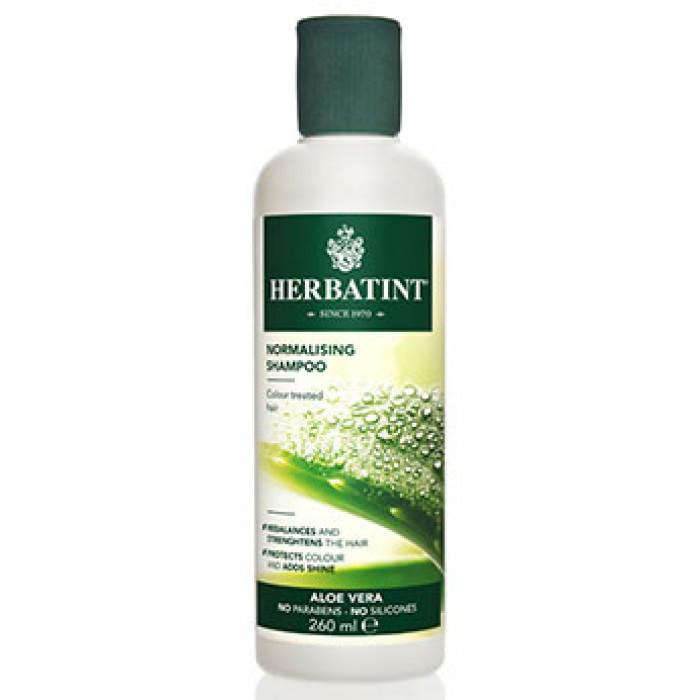 Нормалізуючий Шампунь для фарбованого волосся HERBATINT, 260 мл