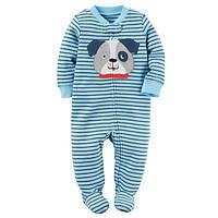 Человечек слип для мальчика Carters щенок, Размер 9м, Размер 9м