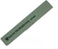 Пилка –полировка для ногтей SALON прямая зеленая 600/3000