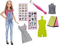 Barbie Набор Барби Модные смайлики эмоджи D.I.Y. Emoji Style Doll Blonde DYN93