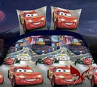 Комплект постельного белья для детей Молния Маквин (ДП евро-027)