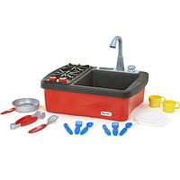 Little Tikes Детская кухня игровая раковина с подачей воды и плитой kitchen 635557M