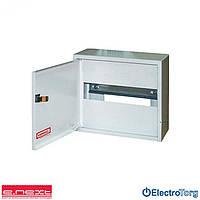 Щит учета / шкаф учета ЩУР, ЩУ, ШУ распределительный e.mbox.RN-6-P мет. навесной под однофазный счетчик, 6 мод. 215х150х125 мм e-next