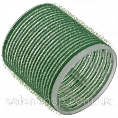 Sibel Бигуди на липучке зеленые 61 мм., 6 шт.