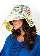 Шляпа летняя женская David DB8-011 One Size Желтый David DB8-011