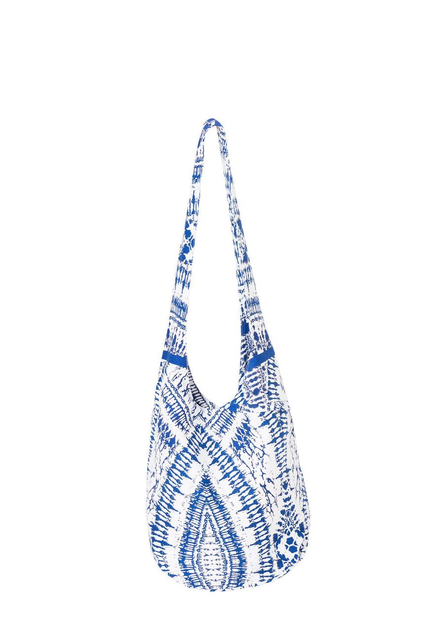Большая пляжная сумка David DB8-017 One Size Голубой David DB8-017 -  Интернет 07063aefc3a