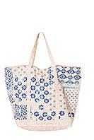 Красивая итальянская пляжная сумка Iconique IC8-045 One Size Бежевый