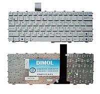 Оригинальная клавиатура для ноутбука Asus Eee PC 1011, 1015 Series, X101 White RU