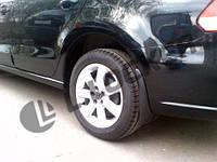 Брызговики задние Volkswagen Polo 5 sedan 2010-14 (Лада Локер)