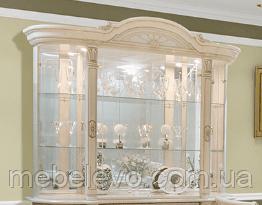 Витрина надставка Вивальди 1380х1680х520мм Світ Меблів
