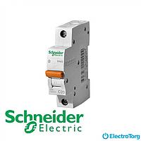 Автоматический выключатель Schneider electric домовой ВА63 1П 32A C