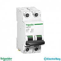 Автоматический выключатель C60H-DC =500В 63А 2Р С Schneider Electric