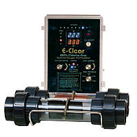Бесхлорная система дезинфекции E-clear MK7/CF1-75 для бассейнов до 80 м3 (до 25 м3/ч)