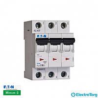 Автоматический выключатель  PL6-C25/3 Moeller Eaton