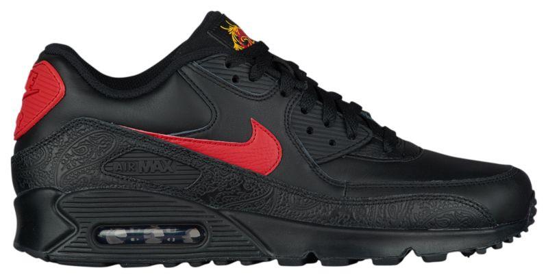 c3e0dba73f2e Кроссовки Кеды (Оригинал) Nike Air Max 90 Black University Red University