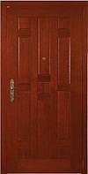 Входные двери Сталь М, модель Президент массив дуба с двух сторон, Вариант №1