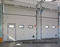 Промышленные секционные ворота Алютех ProTrend 4500х3000