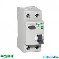 Дифференциальный автоматический выключатель 2-полюсный 16А С, 30 мА, промышленная серия Easy9 Schneider Electric