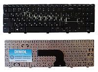 Оригинальная клавиатура для ноутбука DELL Inspiron 15V, 15VR, 1316, 3521, 5521, Vostro 2521, rus, black