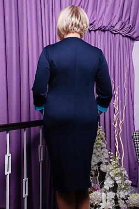 Платье Арабель (черный+горчица), фото 2
