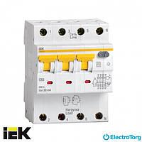 Автоматический выключатель дифф. тока АВДТ34 C32 30мА ИЭК(IEK)