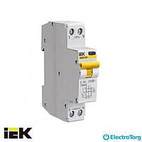 Автоматический выключатель дифф. тока АВДТ32М С20 10мА ИЭК(IEK)