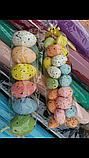 Яйца пасхальные сувенир из пенопласта маленькие 3 см., фото 4