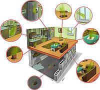 Удаление (устранение) запаха в помещениях. Озонирование
