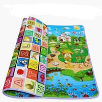 Детский коврик двусторонний. Размер 1,2м на 1,8м Толщина 5мм., фото 1