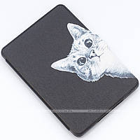 Обложка Slimline Print для Amazon Kindle Paperwhite Funny Cat Black + пленка