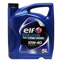 Масло моторное Elf EVOL 700 Turbo Diesel 10w-40 5л/4.35кг SN/CF A3/B4