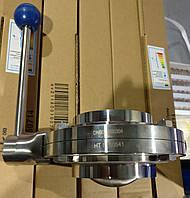 Заслонка дисковая нержавеющая AISI 304 Ду80 С-С