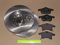 Комплект тормозной передний OPEL ASTRA H 05-,OPEL MERIVA 05-,OPEL ZAFIRA 05- (производство REMSA) (арт. 81036.00), AGHZX
