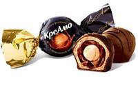 Цукерки КреАмо з цілим фундуком і шоколадною начинкою (1,8 кг), АВК