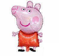 Шарик свинка Пеппа 80х54 см