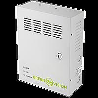 ИБП для видеонаблюдения GreenVision GV-UPS-H 1218-10A-B