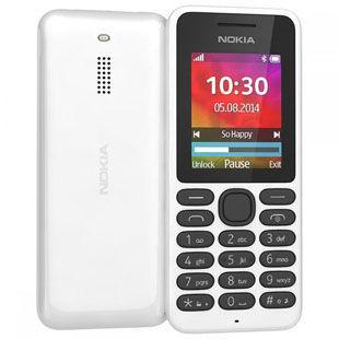 f0ad9a2e281 Мобильный телефон Nokia 130 Dual SIM White   экран 1.8
