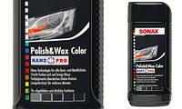 Полироль с воском для черного автомобиля 250 мл SONAX NanoPro 296141