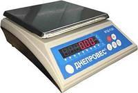 Фасовочные  весы, Ваги фасувальні ВТД-Т3Л, 6кг