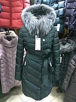 Зима 2018, красивое пальто Lusskiri 8150 на холлофайбере, L, XL, фото 1