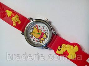 Часы наручные детские Winnie the Pooh красные