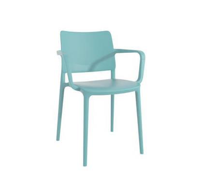 Кресло Joy-K пластик Аква-синий (Papatya-TM), фото 2