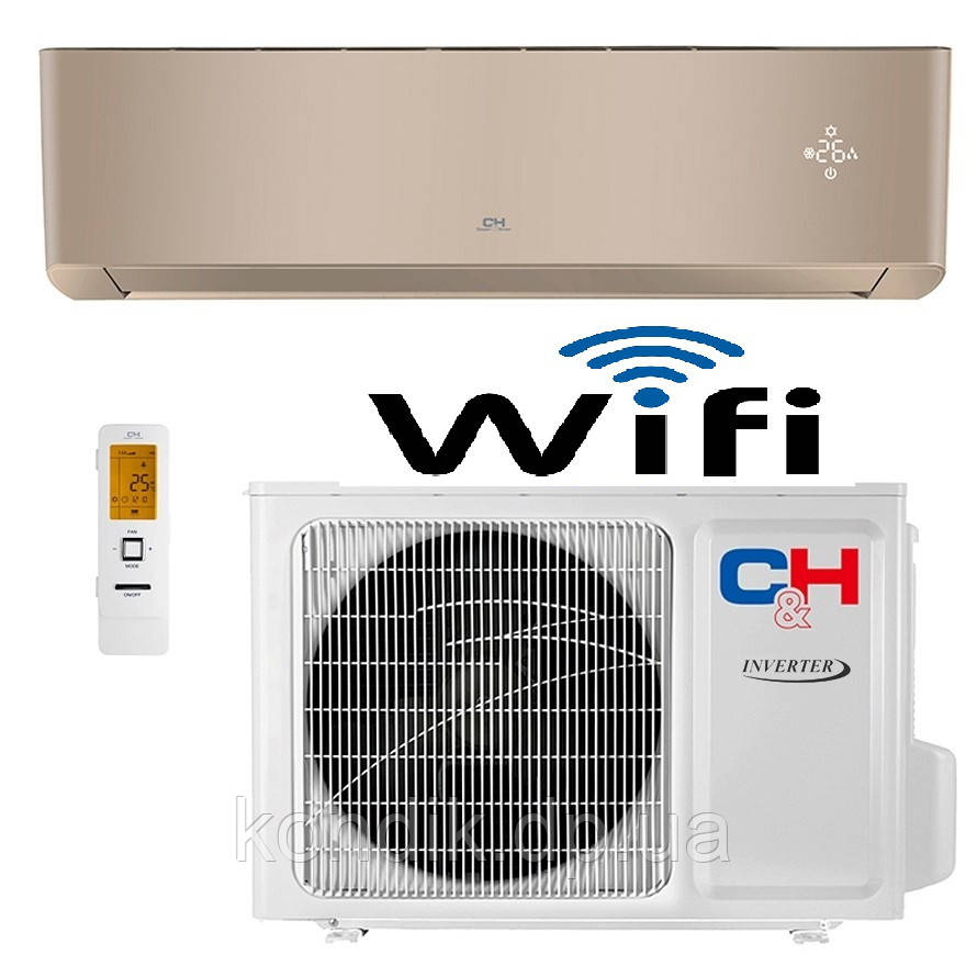 Кондиционер Cooper&Hunter SUPREME (Gold) CH-S12FTXAM2S-GD Wi-Fi инвертор