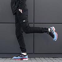 Штаны карго beZet Zipp Black '18