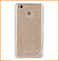 Чехол-накладка TOTO TPU Case Rose series 3 in 1 для Xiaomi Redmi 4x Gold